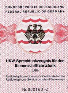 SRC -LRC -UBI Funkschein