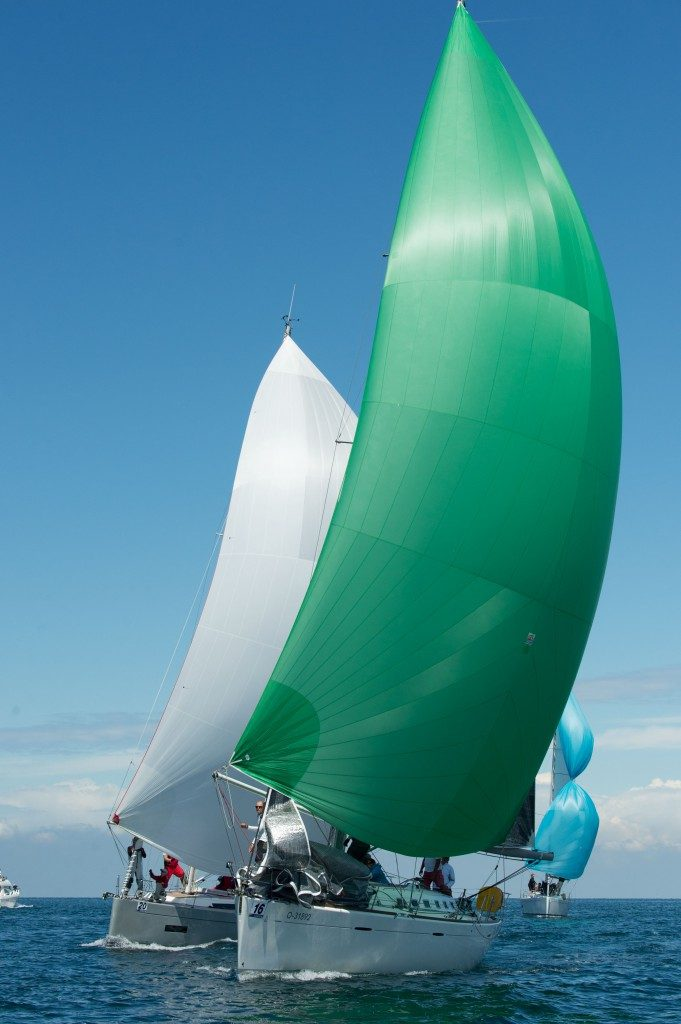 Spinnaker Training in Kroatien
