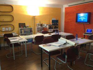 Segelschule Activesail Schulungsraum