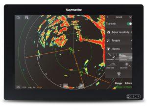 Radar Plotter Raymarine