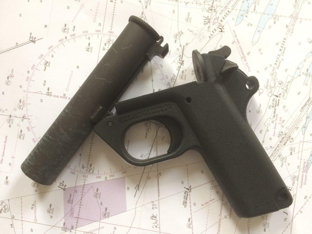 Seenotsignalmittel Waffe Heckler & Koch Karl. 4
