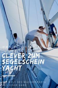 Clever zum Segelschein Yacht im Urlaub in Kroatien