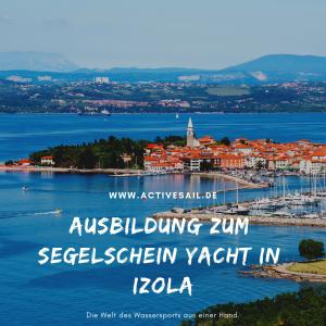 Start zur Segelschein Ausbildung in der Adria