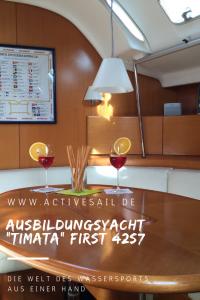 Segelyacht Timata für Ihr Motor Manöver Training in Izola Slowenien