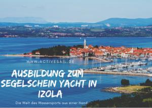 VDS Segelschein Yacht Ausbildungsstützpunkt für Törns nach Kroatien in der Adria - Marina Izola