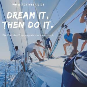 Dream it, then do it. Segeln lernen in Kroatien