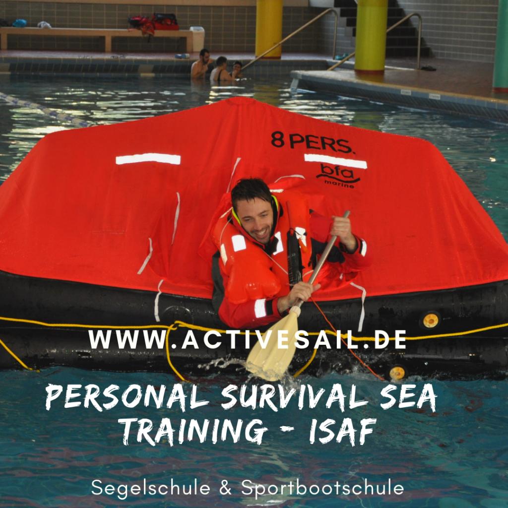 World Sailing Sea Survival Training. ISAF Training.