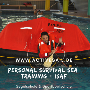 Personal Survival Sea Training - ISAF Appendix G