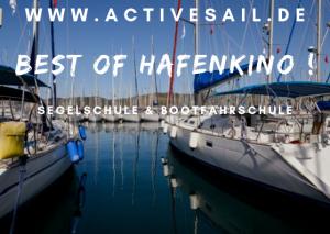 Hafen Manövertraining in der Adria