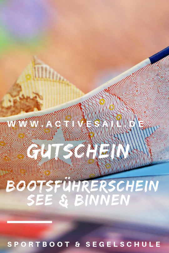 Sportbootführerschein Gutschein Nürnberg, Fürth, Erlangen, Ansbach, Amberg, Neumarkt,