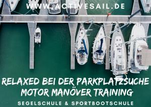 Skippertraining in der Adria Istrien Kroatien / Motor Manöver Training für Skipper