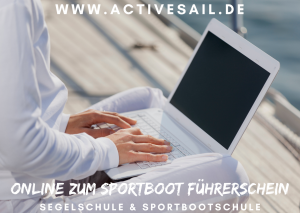 Sportbootführerschein Online Kurs mit Ihrer Segelschule Activesail in Nürnberg, Amberg, Bamberg, Bayreuth, Fürth, Erlangen, Ansbach