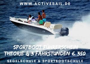 Sportbootführerschein SBF See Binnen Bootsführerschein Sportbootschule Bootfahrten
