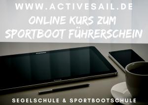 Onlinekurs zum Sportbootführerschein See Binnen