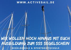 Ausbildungstörn zum SSS Segelschein Sportseeschifferschein in der Adria Istrien Kroatien
