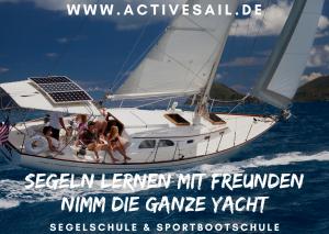 VDS Segelschein Yacht Yachtsegeln Charter die komplette Yacht mit deinen Freunden