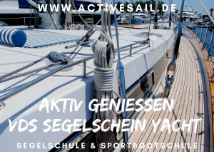 Ausbildung Törn zum Segelschein Yacht VDS oder SKS in der Adria Istrien Kroatien