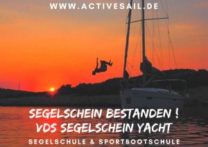 Urlaubstörn mit Ausbildung zum Segelschein Yacht VDS oder SKS Segelschein