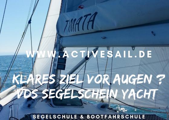 VDS Segelschein Yacht in der Adria