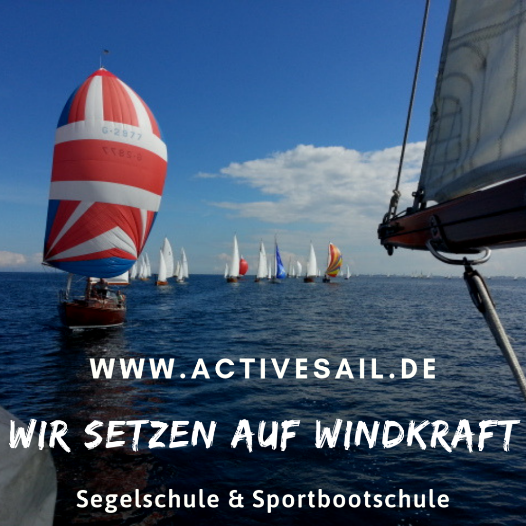Spinnaker Training in der Adria
