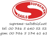 Unser Segelpartner in der Adria Supreme Sails