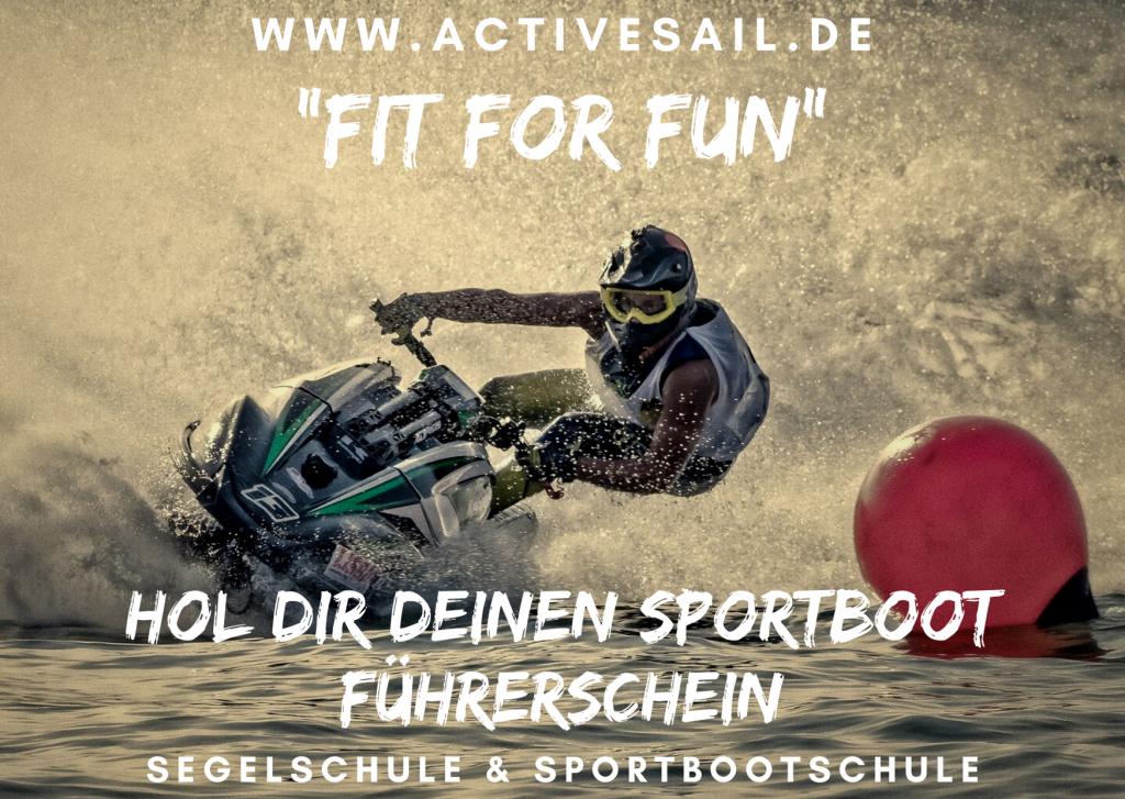 Sportbootführerschein auch für Jetbikes in Nürnberg, Fürth und Erlangen