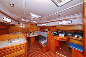 Salon mit Navigation Funky