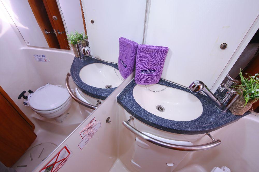 Toilette Segelyacht Funky