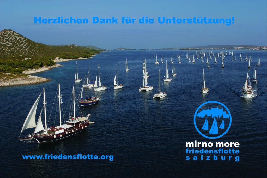 Mirno More Friedensflotte Salzburg