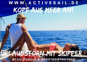 Segel Urlaub im Mittelmeer